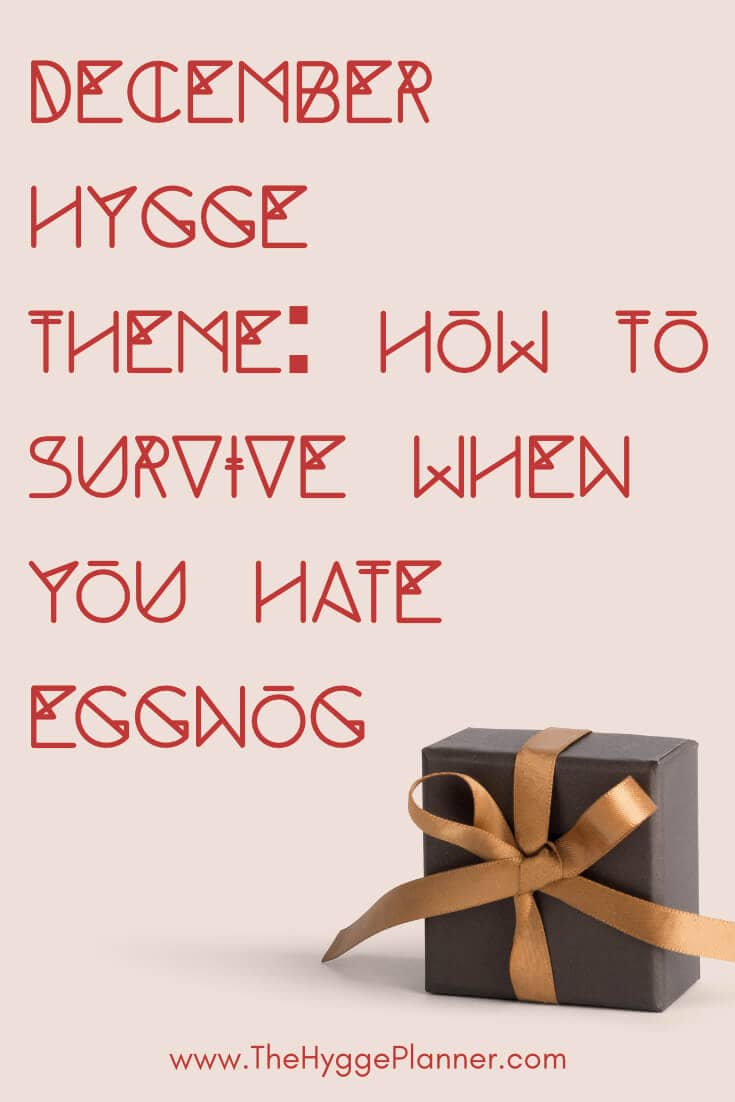 [Christmas Beverages] How to survive when you hate eggnog