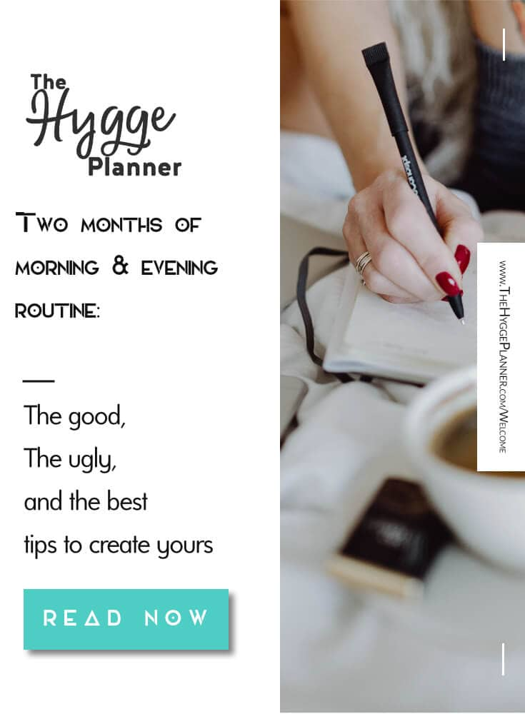 2 months of morning & evening routine: the good, the ugly,& the best tips to create yours