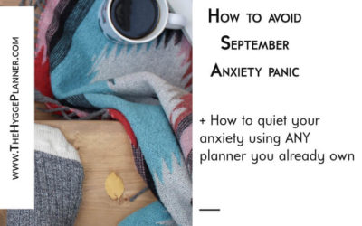 Ep #17: Avoid September anxiety panic