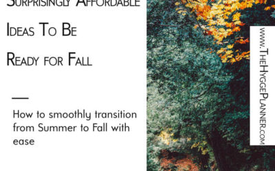Ep #20: Surprisingly Affordable Ideas To Be Ready for Fall