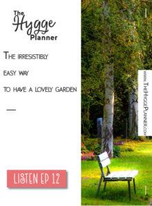 garden hygge, summer hygge