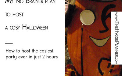 Ep #25: Effortless Way To Host a cosy Halloween Party