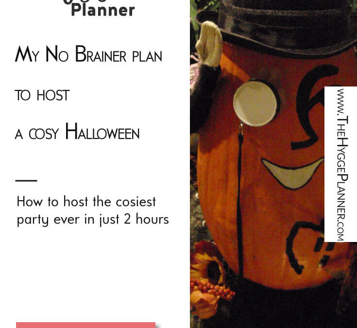 Ep #25: Host a cosy Halloween when you're not an event planner