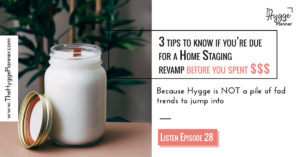 3 tips to know if you're due for a Home Staging revamp before you spent $$$