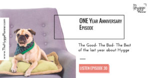 one year anniversary the hygge planner show