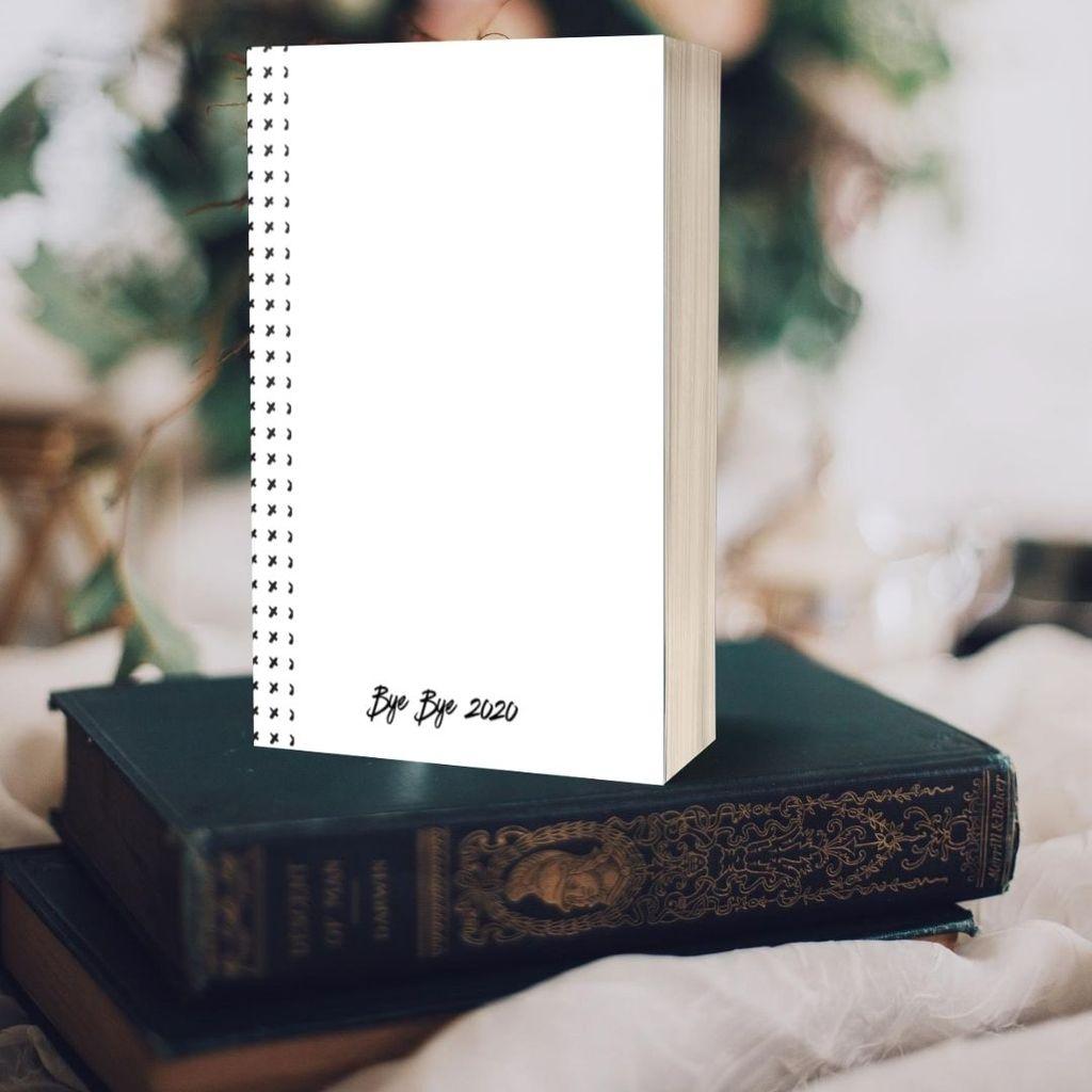 bye bye 2020 hygge planner workbook